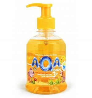 Мыло AQA baby жидкое Янтарная лагуна, 300 мл