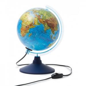 Глобус Земли интерактивный физико-политический с подсветкой и очками VR 210 мм Globen