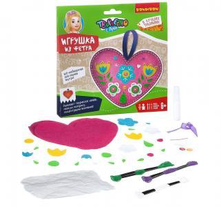 Набор для творчества  игрушка из фетра Сердечко. В лучших традициях! Bondibon