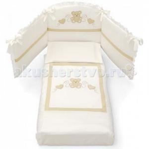 Комплект в кроватку  Jolie (3 предмета) Erbesi