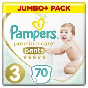 Подгузники-трусики  Premium Care Pants (6-11 кг) 70 шт. Pampers