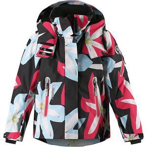 Утеплённая куртка  Roxana Reima. Цвет: черный