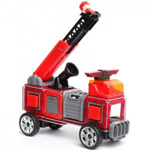 Конструктор  магнитный Пожарная станция MK-50FS Магникон