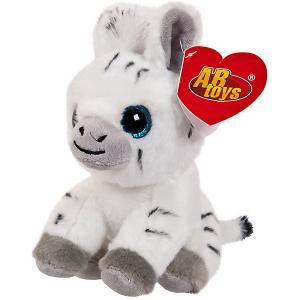 Мягкая игрушка Abtoys Зебра, 14 см. Цвет: разноцветный