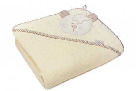 Полотенце Мишутка с капюшоном 95х95 см (в упаковке) Perina