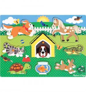 Пазл  Домашние животные Melissa&Doug