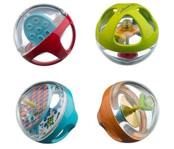 Развивающая игрушка  Набор мячиков Infantino