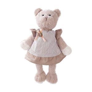 Мягкая игрушка  Мишка Машенька в сером, 23 см Angel Collection