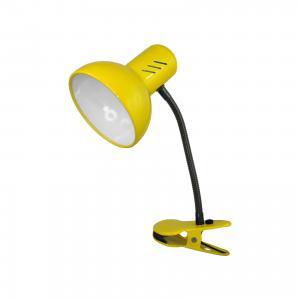 Настольный светильник Прищепка 40Вт ЛН, , желтый Ultra Light