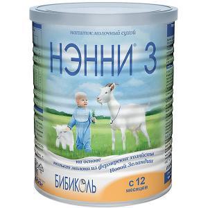 Молочный напиток на основе козьего молока  3, с 12 мес, 400 г Нэнни