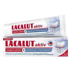 Зубная паста  Aktiv Укрепление десен, 75 мл Lacalut