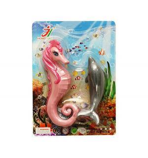 Игрушки для ванной  Дельфин и морской конек Shantou Gepai
