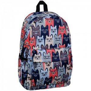 Рюкзак ArtSpace 1 отделение Pattern Cats 41x28x14 cм Спейс