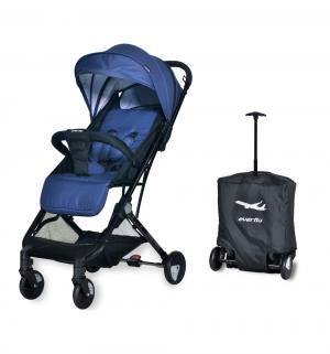 Прогулочная коляска  Baby travel E-330, цвет: jeans Everflo
