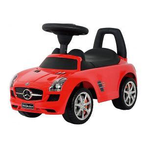 Машина-каталка  Mercedes-Benz, красная Bugati
