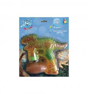 Пистолет для пускания мыльных пузырей Мы-шарики! Динозавр