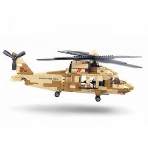 Конструктор  Вертолёт (439 деталей) Sluban