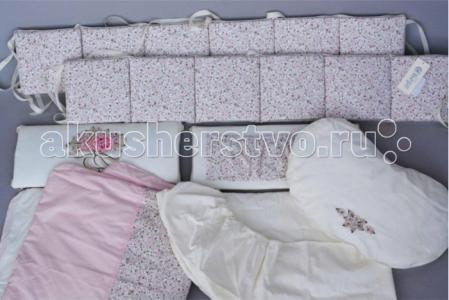 Комплект в кроватку  Французский прованс (6 предметов) Chepe