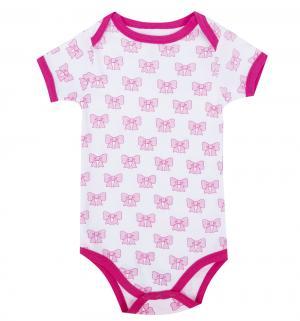 Комплект боди 3 шт , цвет: розовый Hudson Baby
