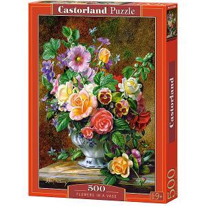 Пазл  Цветы в вазе 500 деталей Castorland