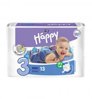 Подгузники  Midi 3 (5-9 кг) 13 шт. Bella Baby Happy