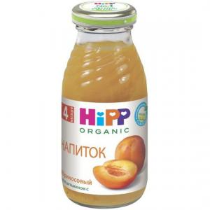 Сок  абрикос, 200 мл Hipp