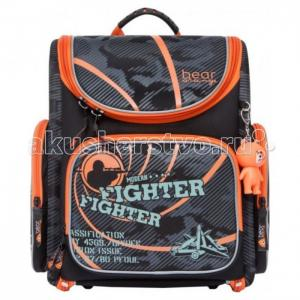 Рюкзак школьный S-21 Orange Bear