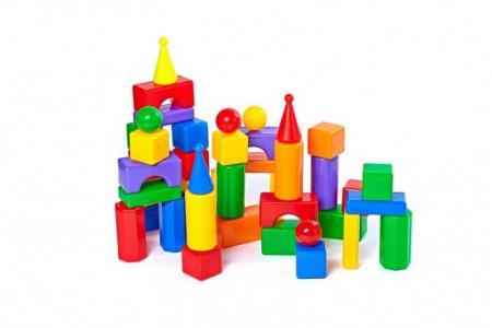 Развивающая игрушка  Строительный набор Стена-2 43 элемента СВСД