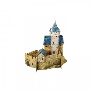 Сборная модель Охотничий замок Умная Бумага