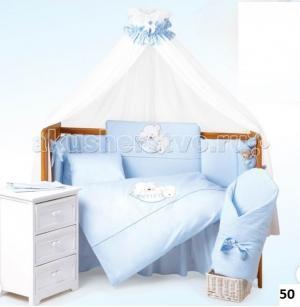 Комплект в кроватку  Sleeping Bear (6 предметов) Tuttolina