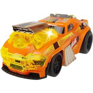 Машинка  Демон скорости, моторизированная, 25 см Dickie Toys. Цвет: оранжевый