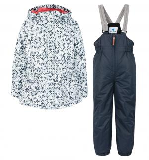 Комплект куртка/полукомбинезон  Nada, цвет: синий Luhta