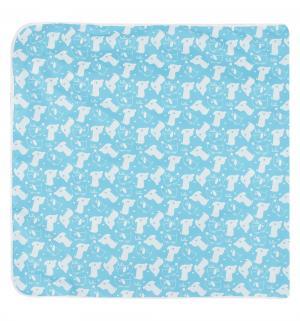 Наматрасник  60 х 120 см, цвет: голубой Multi-Diapers