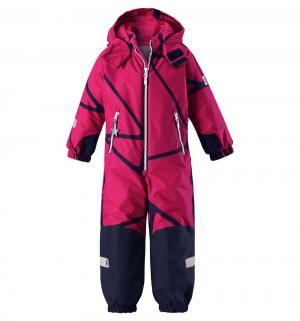 Комбинезон Tec Snowy, цвет: розовый/синий Reima