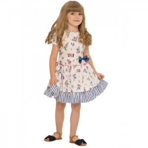 Платье для девочки Zoo О54632 Карамелли
