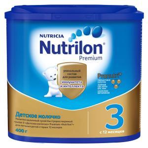 Молочная смесь  Premium 3 с 12 месяцев, 400 г Nutrilon