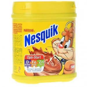 Напиток шоколадный  Плюс Быстрорастворимый шоколадный, 500 г, 1 шт Nesquik