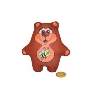 Мягкая игрушка  Мишутка цвет: коричневый СмолТойс