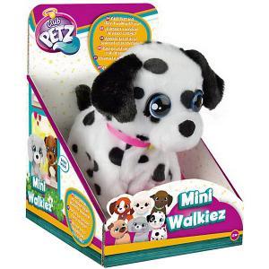 Инерактивный щенок  Club Petz Mini Walkiez Dalmatian IMC Toys. Цвет: черный/белый