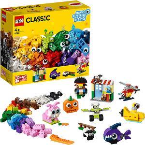 Конструктор  Classic 11003: Кубики и глазки LEGO