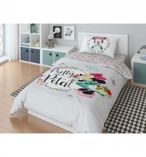 Комплект постельного белья  Minnie, цвет: серый 3 предмета Нордтекс