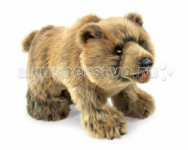 Мягкая игрушка  Медведь Гризли 38 см Folkmanis