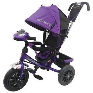 Трехколесный велосипед  12х10, фиолетовый Lexus Trike. Цвет: фиолетовый