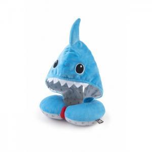 Детская подушка для путешествий с капюшоном Акула BenBat