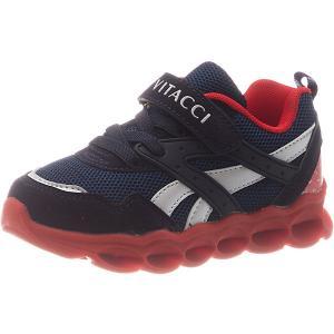 Кроссовки  для мальчика Vitacci. Цвет: синий