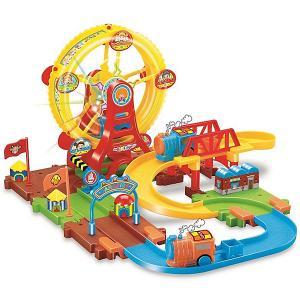 Железная дорога  Колесо обозрения с поездом Devik Toys