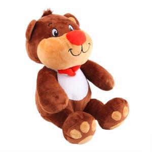 Мягкая игрушка  Медвежонок Веня 34 см цвет: коричневый СмолТойс