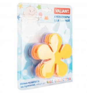 Коврик на присосках  Цветок Valiant