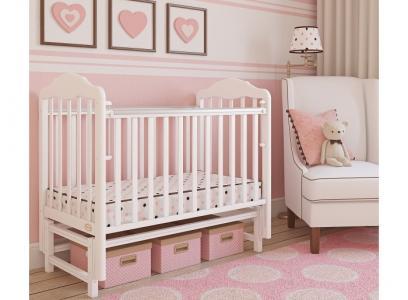 Детская кроватка  Classico продольный маятник Giovanni