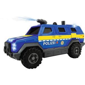 Машинка  Полицейский внедорожник, 18 см, водяной насос Dickie Toys. Цвет: синий